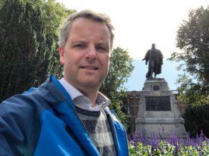 21. Selfie met...- Pieter van der Werf
