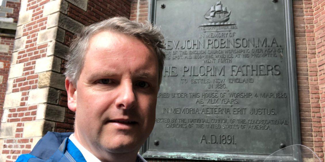 25. Selfie met - The Pilgrims