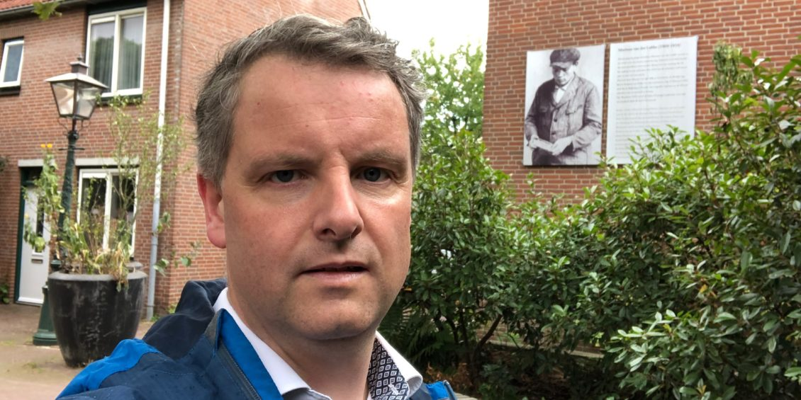 29. Selfie met...- Marinus van der Lubbe