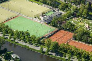 Roomburgerpark en Hockey - foto Gemeente Leiden